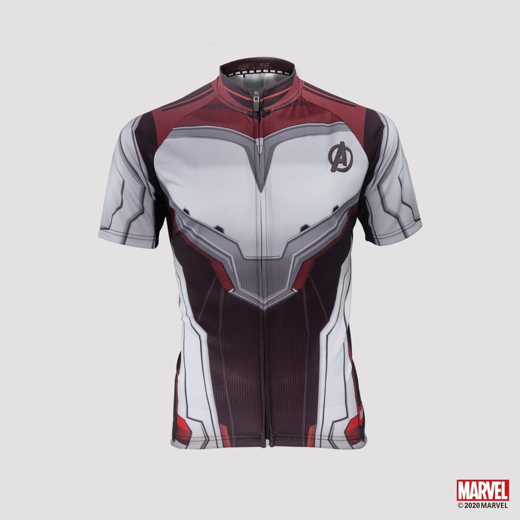 MARVEL漫威英雄自行車車衣(復仇者) 短袖騎行服-迷彩系列【官方授權】【飛輪單車】