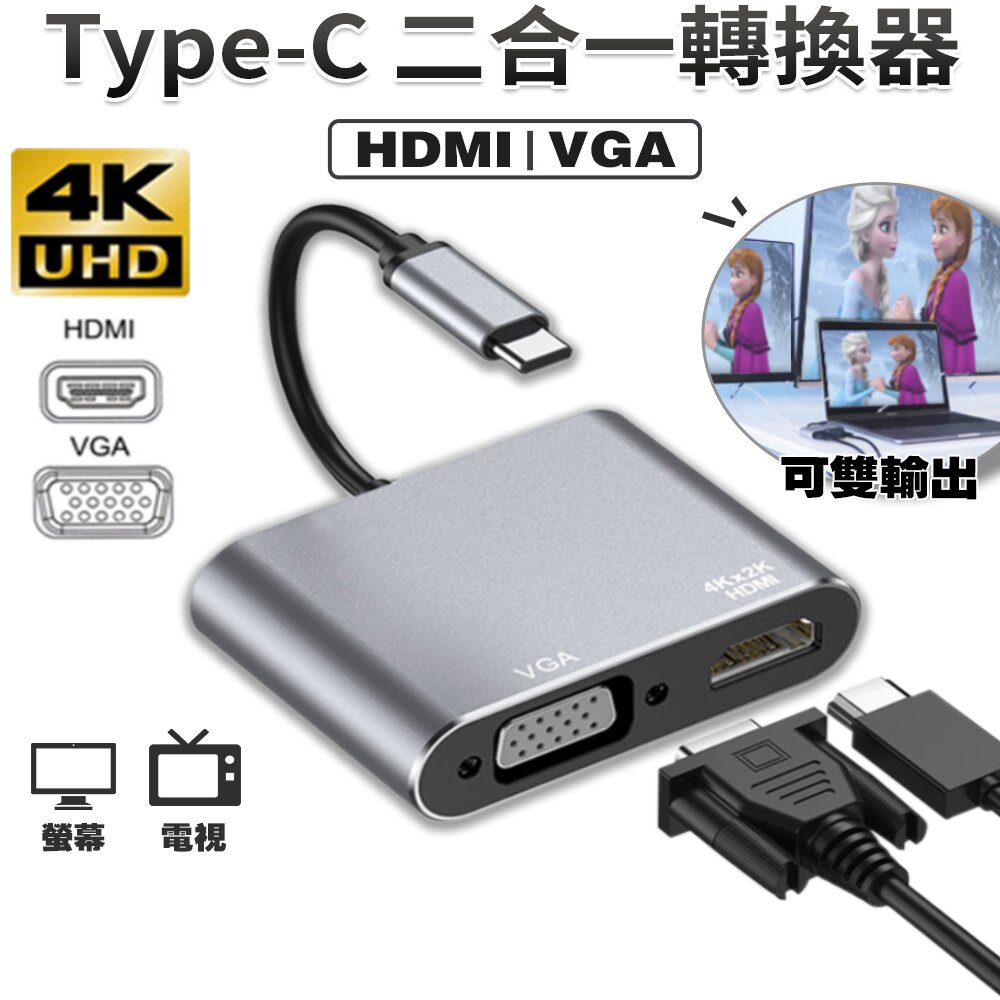 【Octopus 24H】 MacBook PC 安卓高階手機 支援4K Type C to HDMI HUB 多功能 集線器