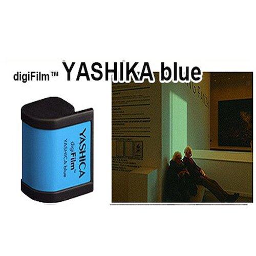 YASHICA YAS-DGFBLU BLUE 數位膠捲