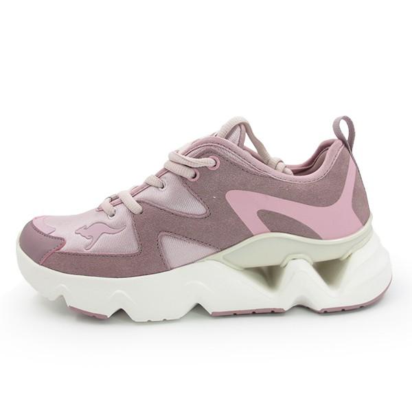 KangaROOS 美國袋鼠 GrooveII 休閒鞋 老爹鞋 復古 厚底 粉色 女生尺寸【KW11263】
