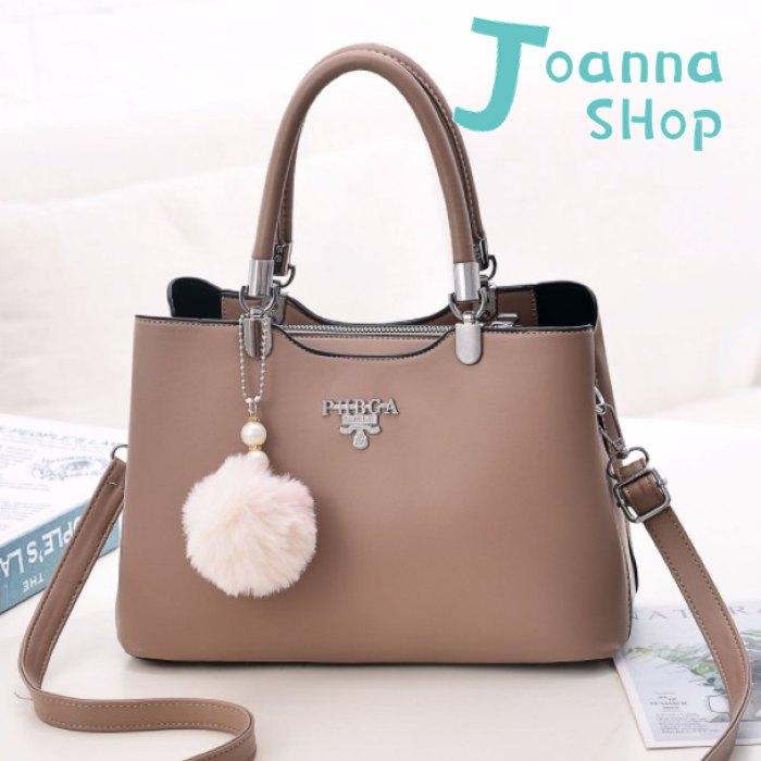 韓版新收藏小資純色手提斜背包1-Joanna Shop