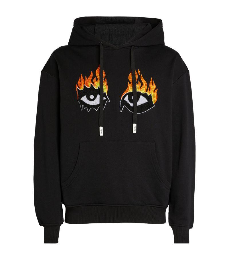 Haculla Eyes On Fire Hoodie