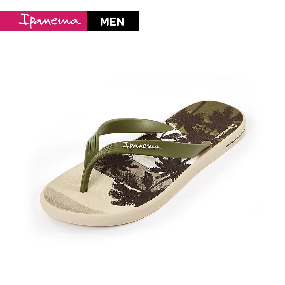 Ipanema  [Men] POSTO印花人字夾腳拖  男款 綠(IP8287920645)