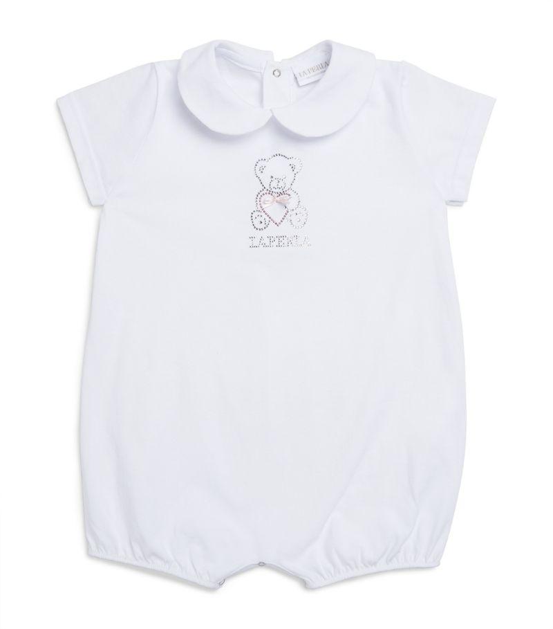 La Perla Kids Beaded Bear Bodysuit (1-12 Months)