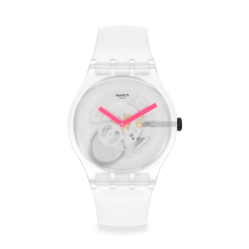 【SWATCH】 New Gent 原創系列手錶SNOW BLUR 迷濛白(41mm) SUOW172