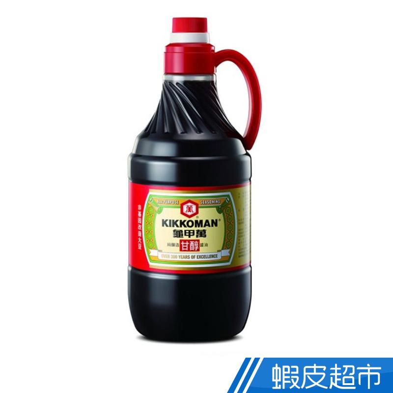 龜甲萬 甘醇醬油 PET1600ml/罐 100%純釀造 經典美味 現貨 蝦皮直送