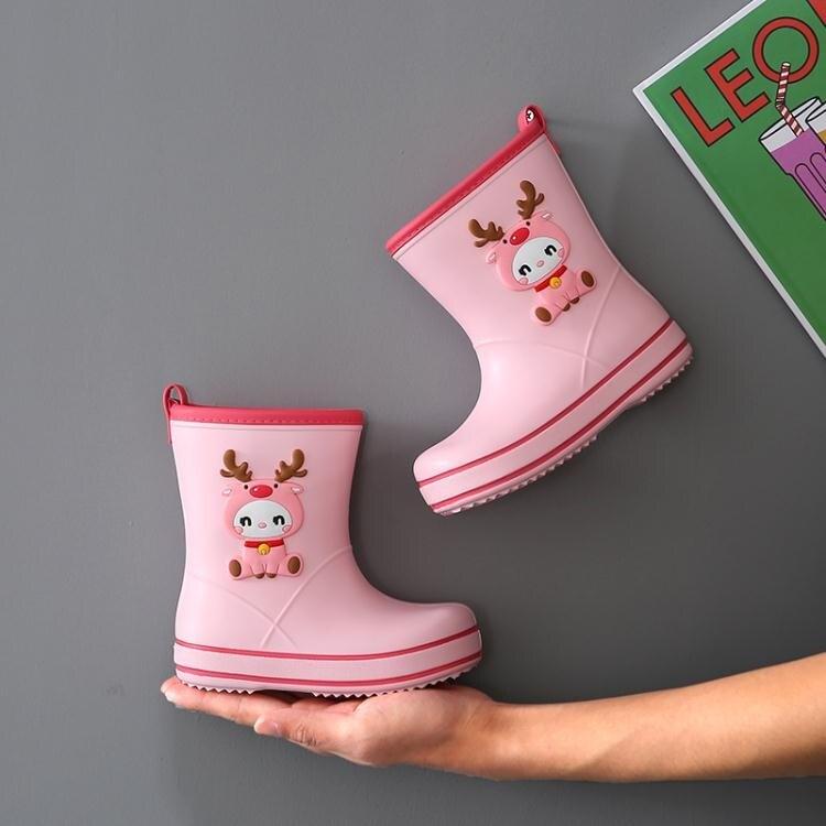 寶寶雨靴水鞋兒童雨鞋新款男童1-2歲3小童嬰幼兒防水防滑小孩女童 娜娜小屋