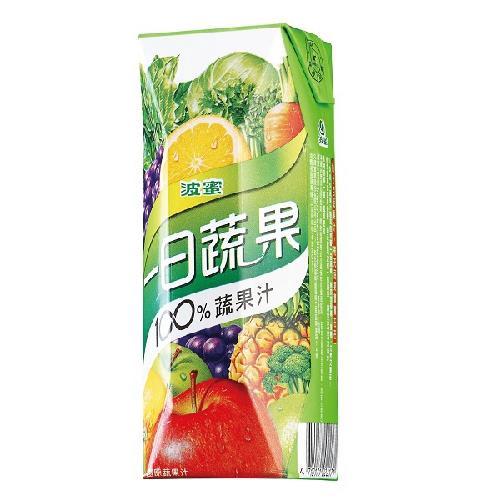 波蜜 一日蔬果100%蔬果汁(250mlX6包/ 組)[大買家]