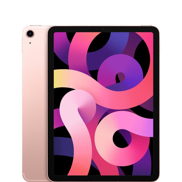 10.9 吋 iPad Air Wi-Fi + 行動網路機型 64GB - 玫瑰金色 - Apple - MYGY2TA/A