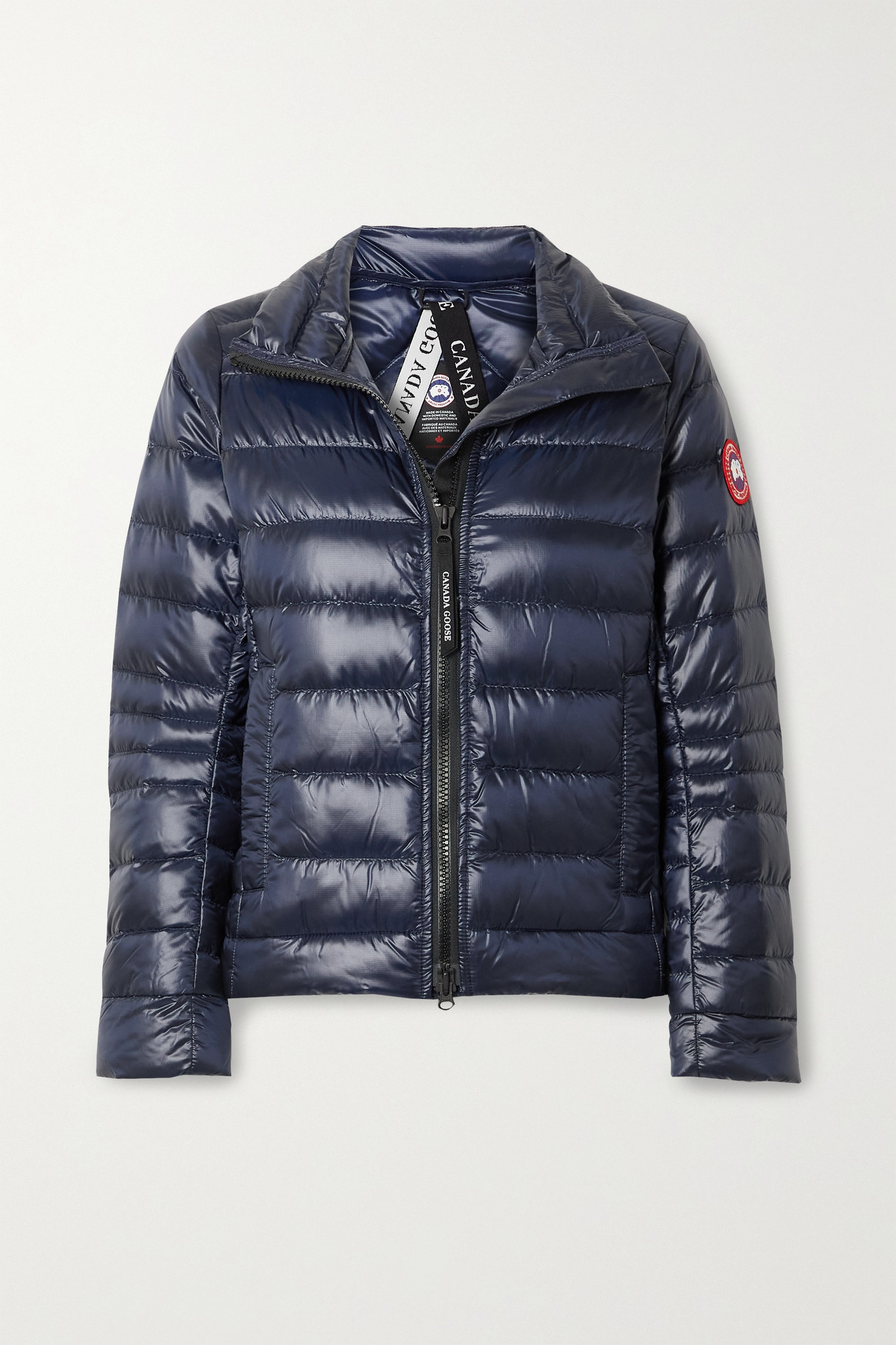 CANADA GOOSE - Cypress Quilted Recycled Ripstop Down Jacket - Blue - small