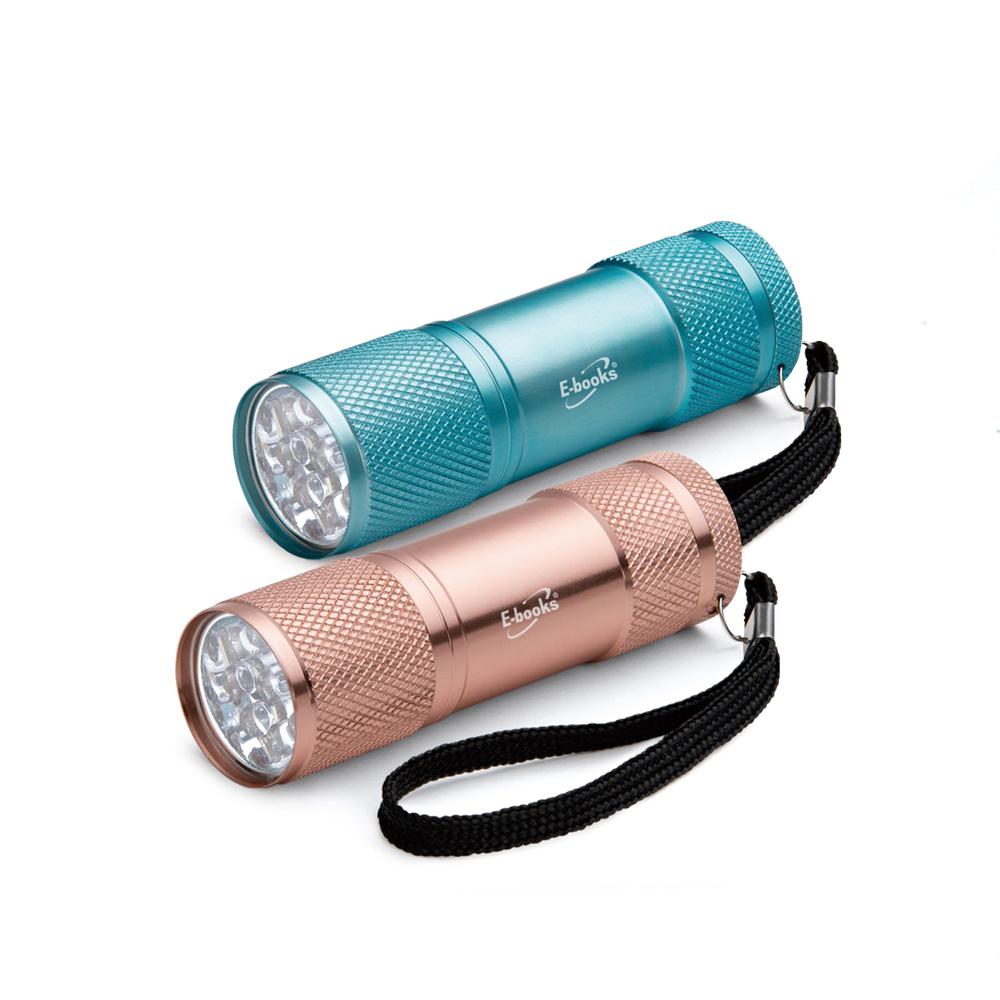 F3 輕量鋁合金LED手電筒雙入組