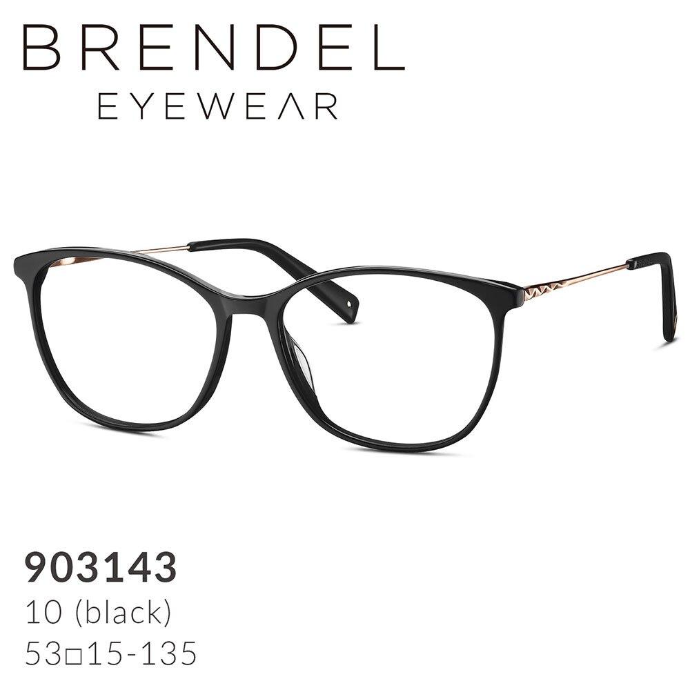 【BRENDEL】布蘭德爾 德國時尚女性簡約板料複合膠框眼鏡 903143