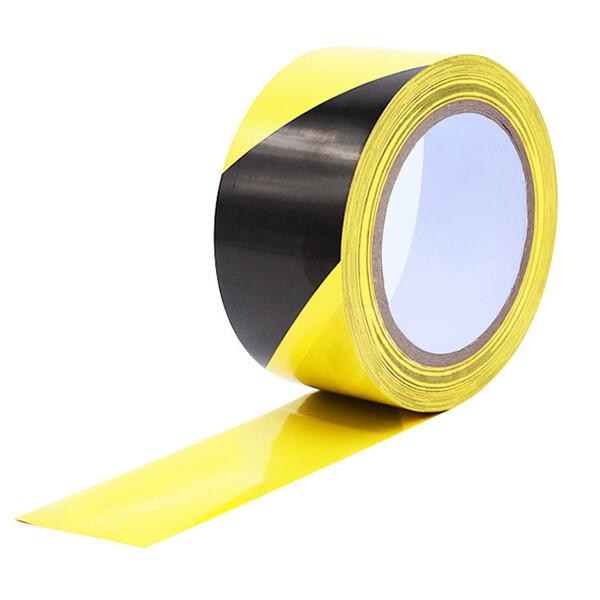 警示膠帶  警戒地標貼 地板地面膠帶 劃線膠帶 施工膠帶