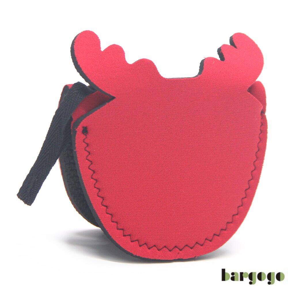 Bargogo 麋鹿造型隔熱手套(2件)-潛水衣材質