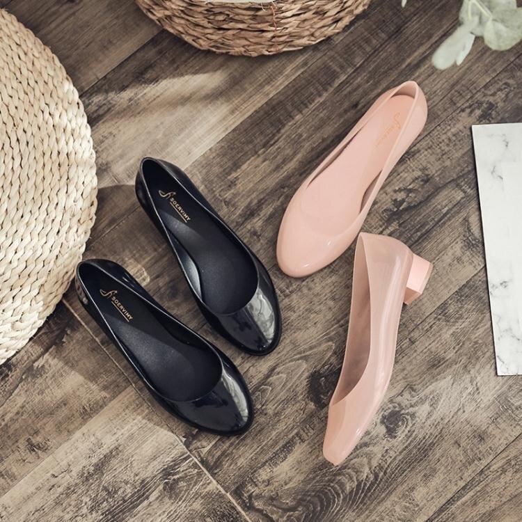 雨鞋女韓國可愛學生淺口百搭水鞋女時尚低幫短筒防滑膠鞋夏季雨靴 小山好物