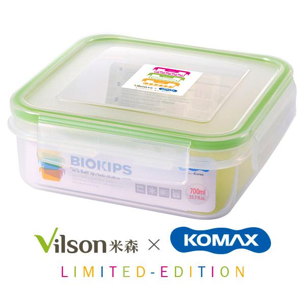 【米森VILSONX韓國KOMAX】聯名可微波保鮮盒(700ml)【食器大展↘任選3件75折】