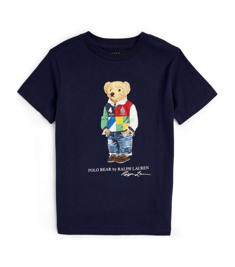 Ralph Lauren Kids Rugby Polo Bear T-Shirt (6-14 Years)