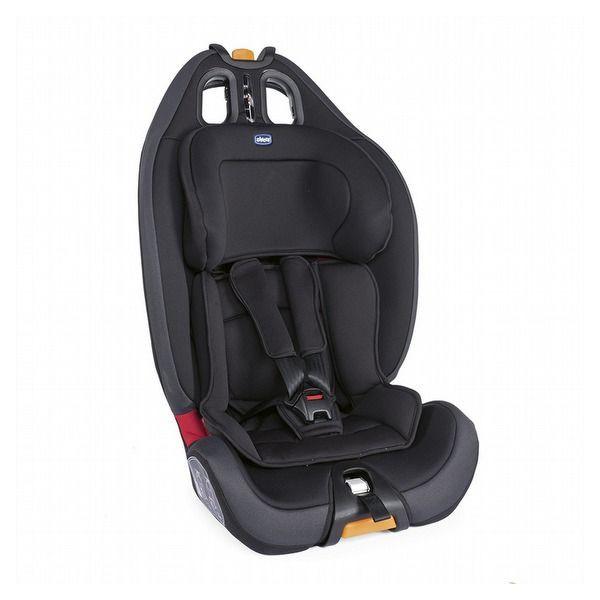 【衛立兒生活館】Chicco Gro-Up 123成長型安全汽座(安全座椅)-幕府黑