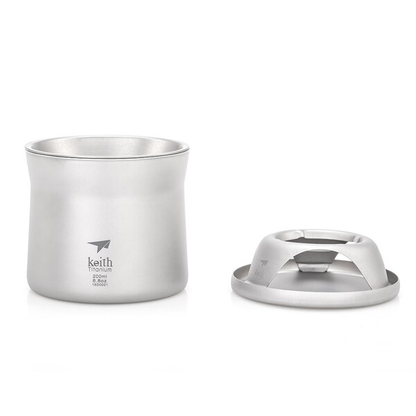 Ti3911 雙層_mini泡茶咖啡鈦杯 (附皮質收納盒)