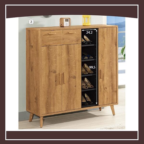 【多瓦娜】喬納森4尺鞋櫃 21057-839002