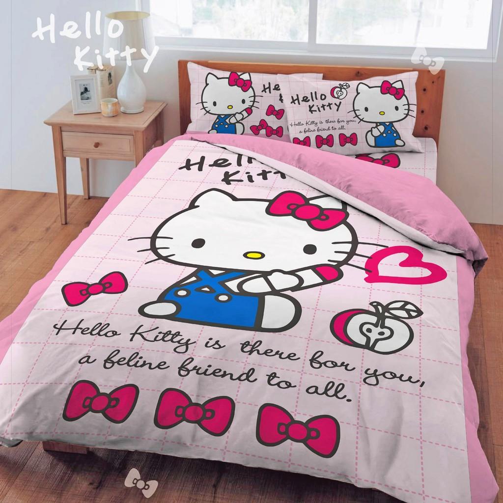 床包被套組 【hello kitty-小時光】 單人/雙人/加大 台灣製 正版授權