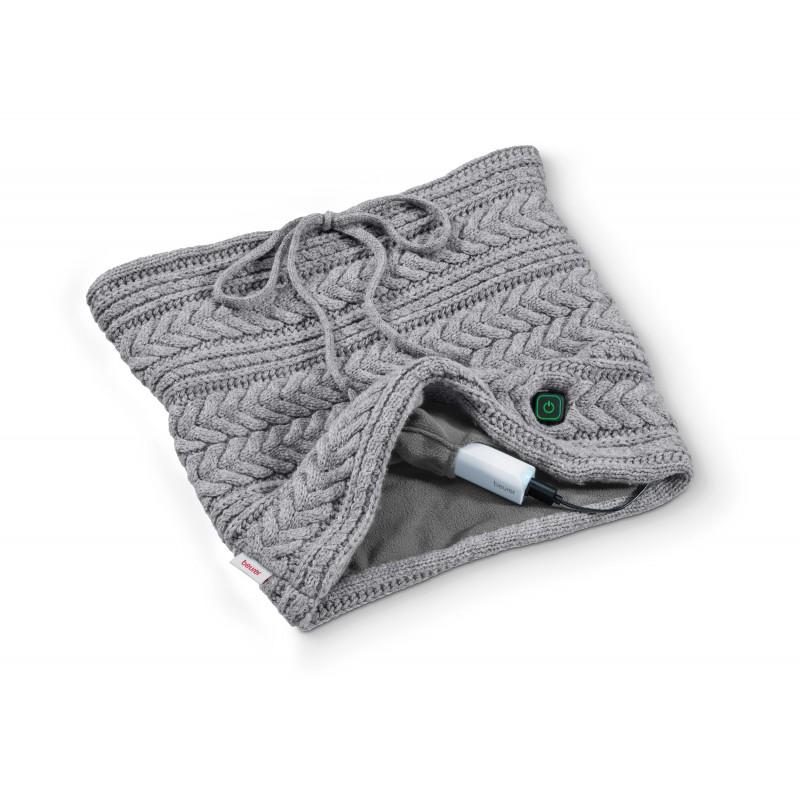 beurer 德國博依 行動電熱暖暖套圍巾 HK 37 會發熱的圍脖