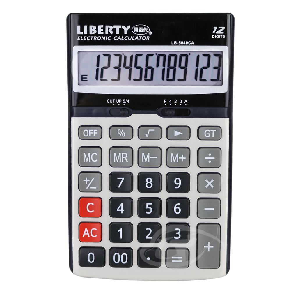 LIBERTY利百代 金屬效率-桌上型12位元計算機 LB-5040CA