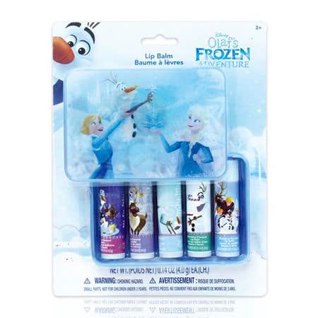 美國熱銷卡通Frozen 盒裝護唇膏 5入