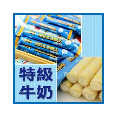 Wasuka 爆漿捲心酥-牛奶威化捲 600g*4包組