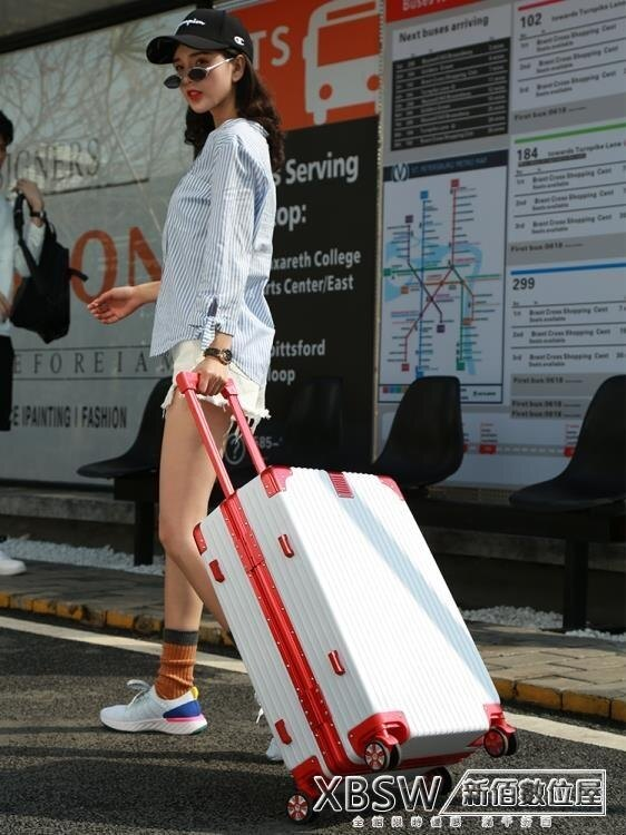 行李箱萬向輪男女20寸拉桿箱旅行箱密碼箱 24寸CY