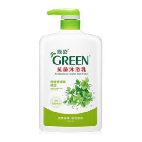 綠的 抗菌沐浴乳-檸檬香蜂草精油(1000ml) [大買家]
