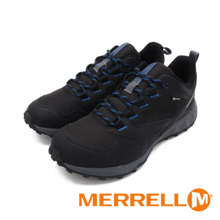 MERRELL(男)ALTALIGHT APPROACH GORE-TEX郊山健行鞋 男鞋-黑藍(另有灰藍)