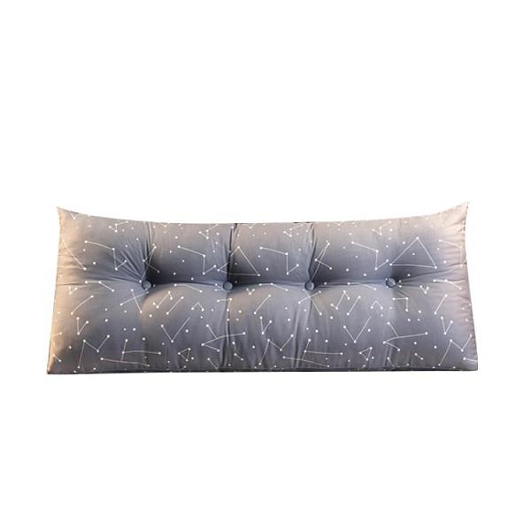床頭靠墊長枕頭雙人護腰靠枕床頭軟包床上沙發三角大靠背枕可拆洗 【端午節特惠】