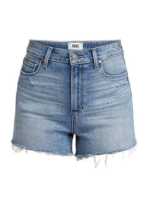 Margot Raw Hem Denim Shorts