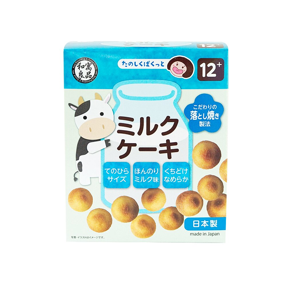 日本和寓良品 牛奶水滴餅(12M)