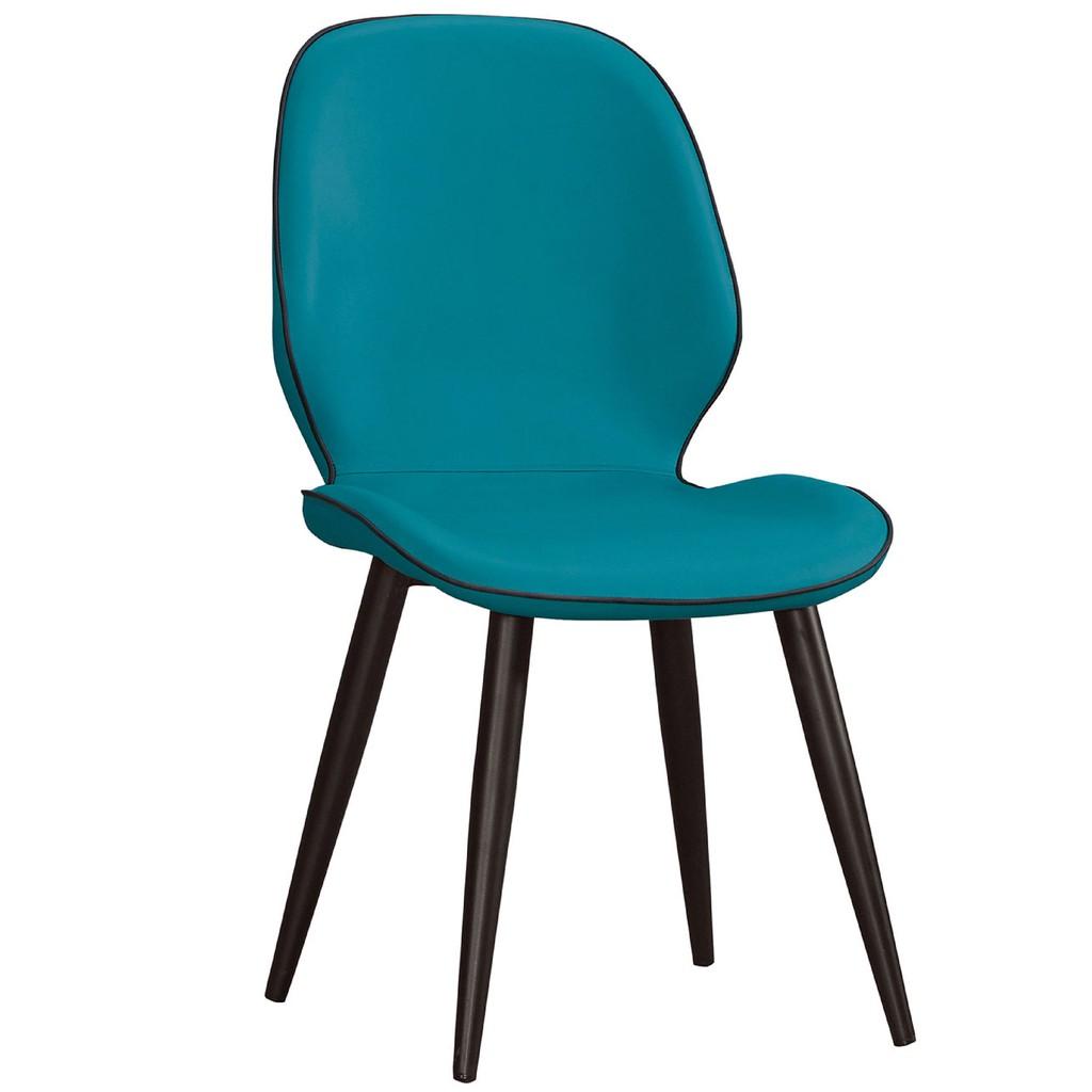 【46.5cm皮革餐椅-A714-9】餐椅 北歐工業風 書桌椅 長凳 實木椅 皮椅布椅 餐廳吧檯椅 會議椅【金滿屋】