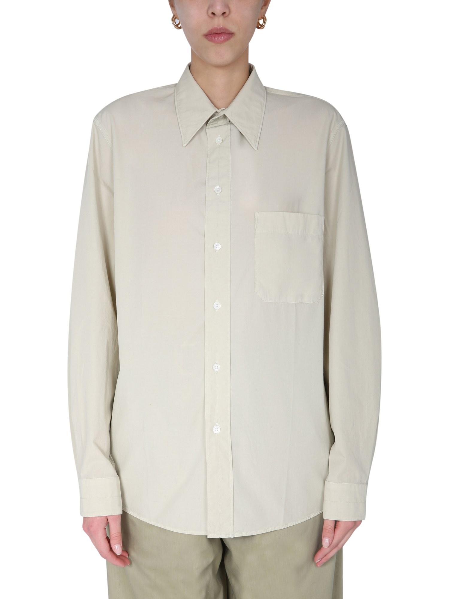 lemaire regular fit shirt