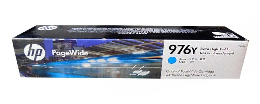 l0r05a hp 976y pagewide 高印量藍色墨水匣 適用 pagewide p5525