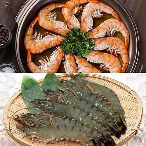 【築地一番鮮】鮮蝦雙拼(藍鑽蝦1kg10%+活凍牛海蝦1kg10%)