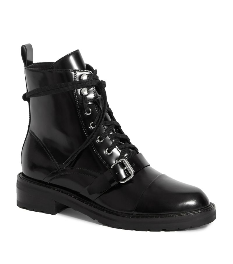 Allsaints Leather Donita Lace-Up Boots