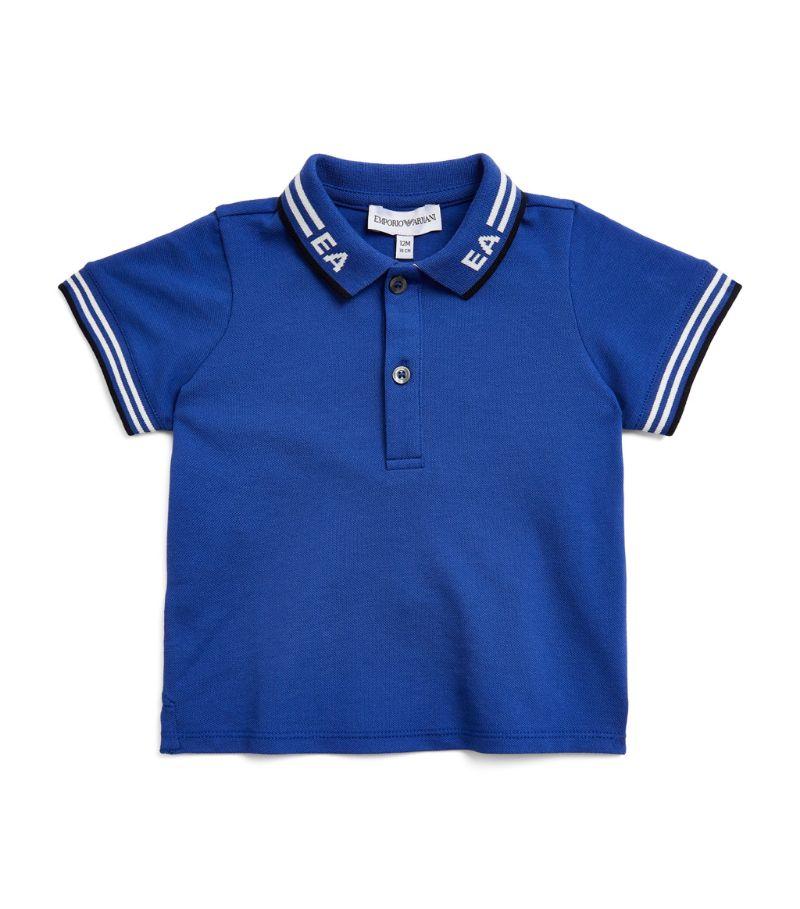 Emporio Armani Kids Stripe-Detail Polo Shirt (6-36 Months)