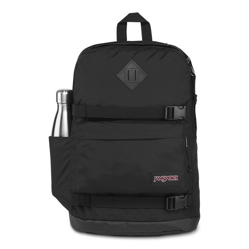 JanSport 校園背包(WEST BREAK)-黑