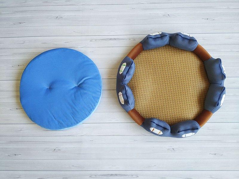 三色蓆涼墊- 動物造型床墊(泡湯系列加大版) 專用尺寸 寵物涼墊