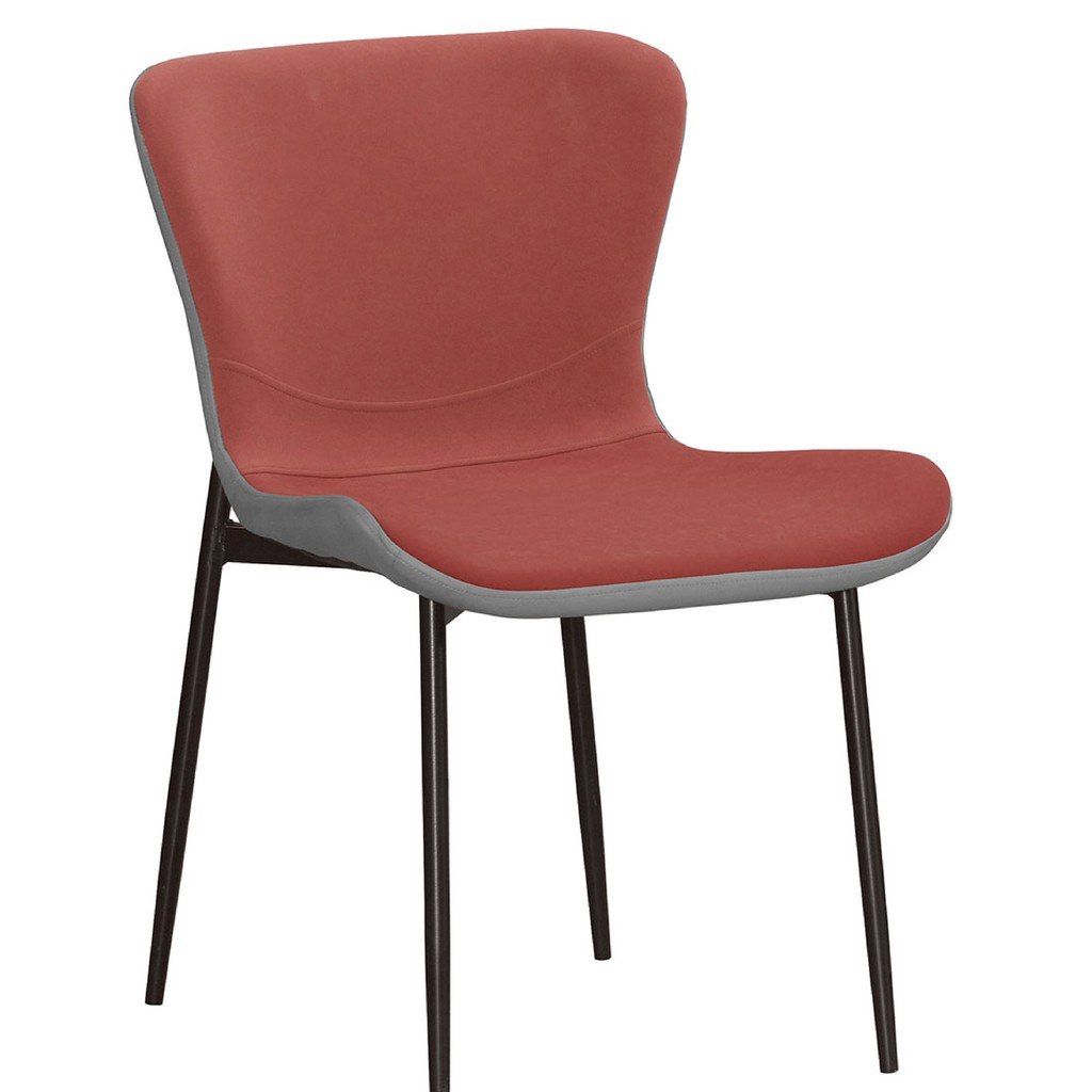 【51.5cm皮革餐椅-A713-12】餐椅 北歐工業風 書桌椅 長凳 實木椅 皮椅布椅 餐廳吧檯椅 會議椅【金滿屋】