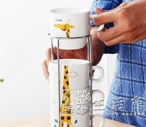 個性創意辦公室喝水杯茶杯子家用套裝馬克杯陶瓷杯簡約咖啡杯家庭
