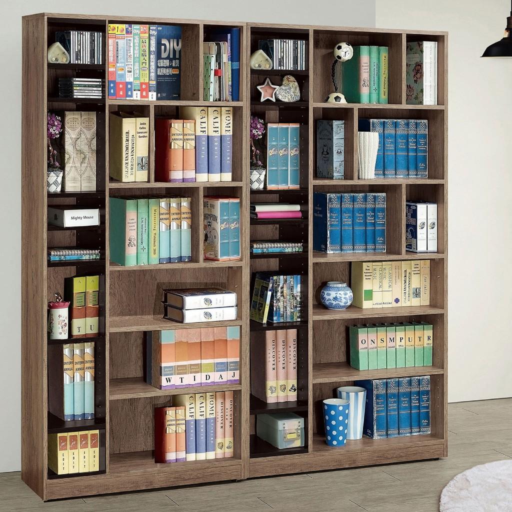 【180.4cm書櫃-A516-4】北歐工業 置物櫃 玻璃實木 書房書櫃書架 櫥櫃 層架收納整理 【金滿屋】