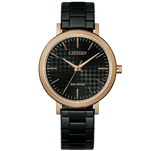 CITIZEN 星辰 光動能 EM0768-54E 簡約式女錶-36.5mm