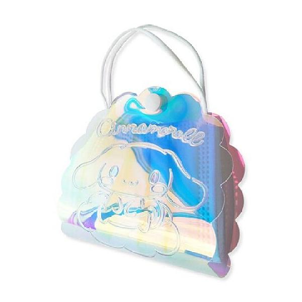 小禮堂 大耳狗 造型塑膠扣式口罩提包 透明口罩夾 口罩包 口罩套 (鐳射光) 4991567-26749