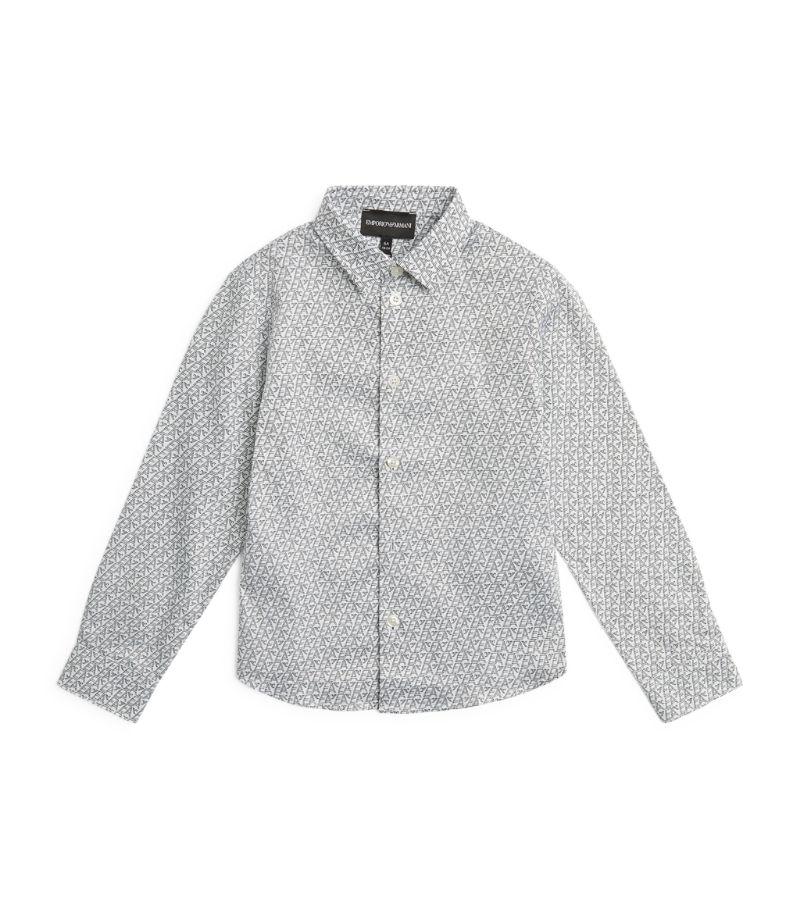 Emporio Armani Kids All-Over Print Shirt (4-16 Years)