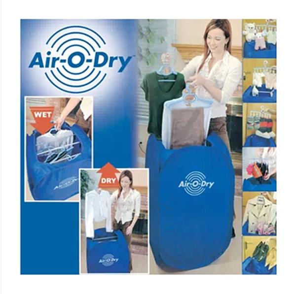 台灣電壓 回南天# Air-O-Dry外貿正品便攜式小乾衣機學生寶寶烘衣可折疊免安裝800瓦 110V 免運